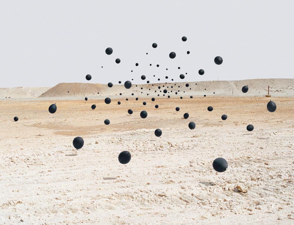 Andrea Galvani, La morte di un'immagine #7, 2006, C-print su alluminio d-bond, cm 144x178