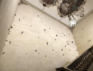 Il Concerto di Campogrande, Nel volo, 66 terrecotte dipinte, Palazzo Pepoli Campogrande, metri 12x10 circa