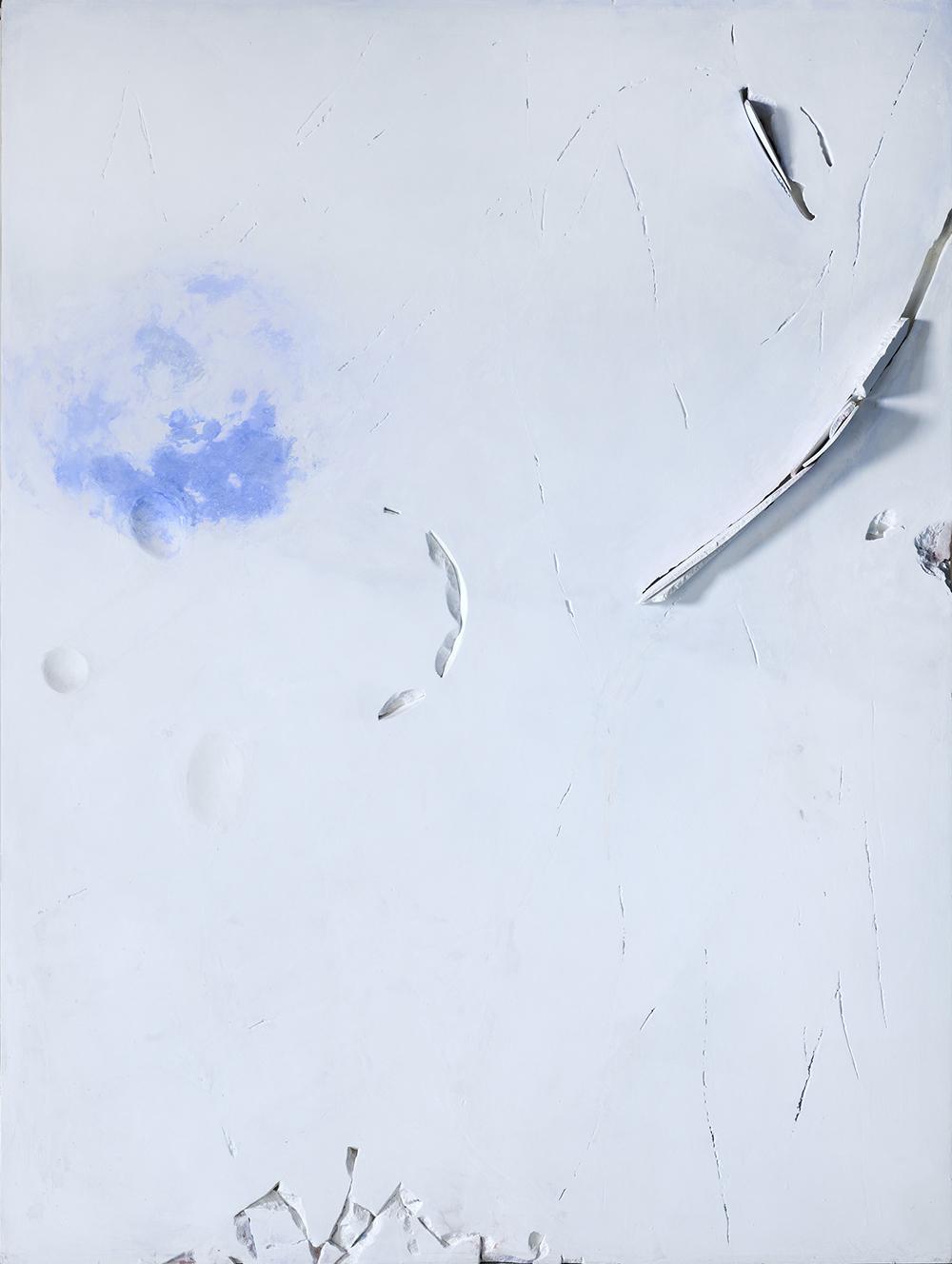 Impossibili restauri, 2009, tecnica mista su tavola, cm 200x150