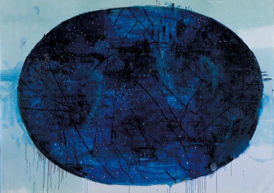 La-Mappa-delle-Stelle,-2002-2004,-tecnica-mista-su-tela,-cm-290x355