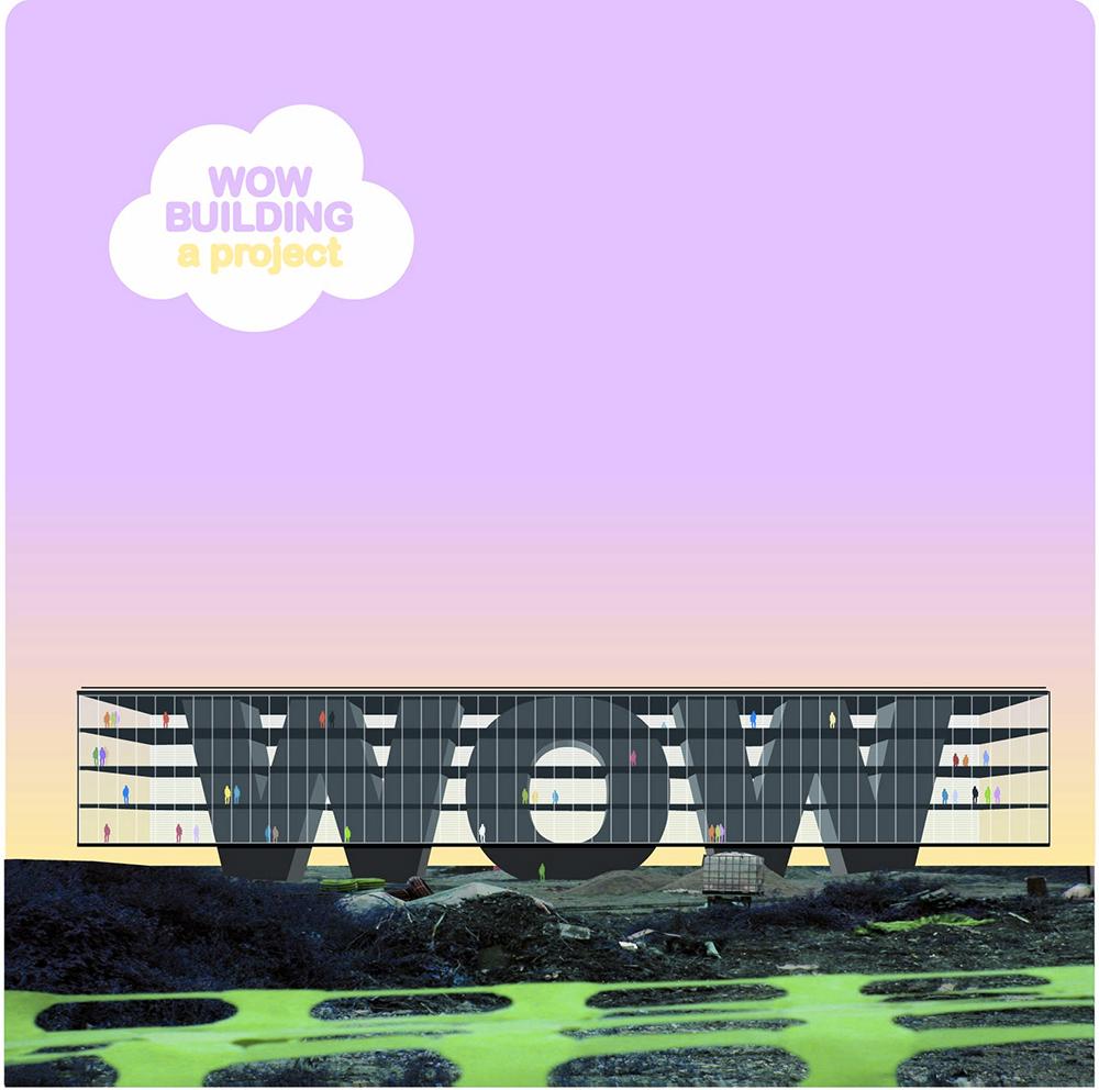Stefano Mandracchia, WOW building, 2006, stampa, cm 120x120