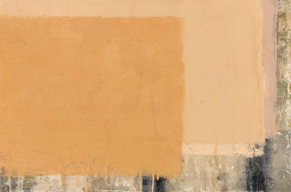 Muro 33, 2011, tecnica mista su tela, cm 40x60