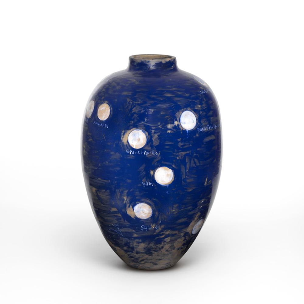 Pizzi Cannella, Le Lune, 2011-2012, ceramica, h cm 90