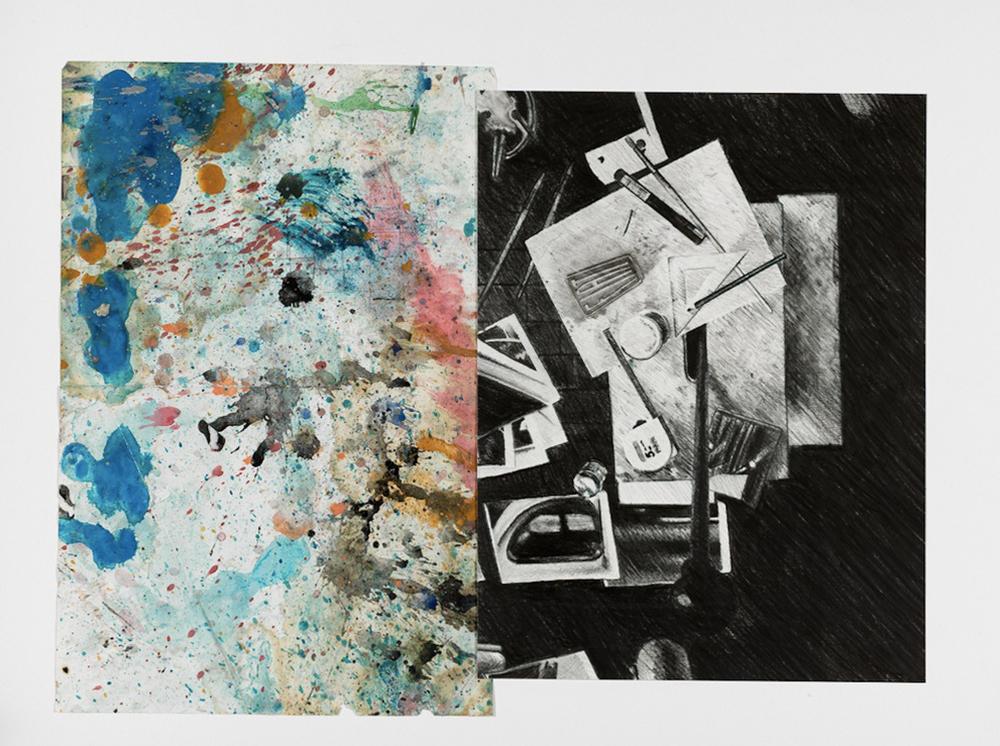 RdP 776, 2010-11, tecnica mista su carta, cm 40x50
