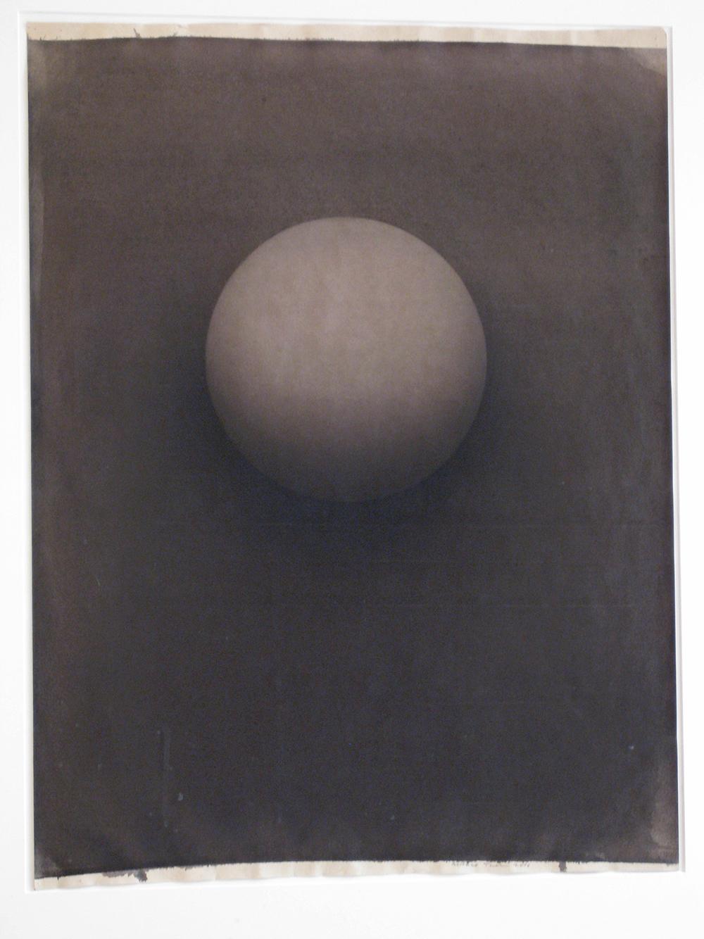 Senza titolo, 2006, tempera e carbone su carta, cm 72x56