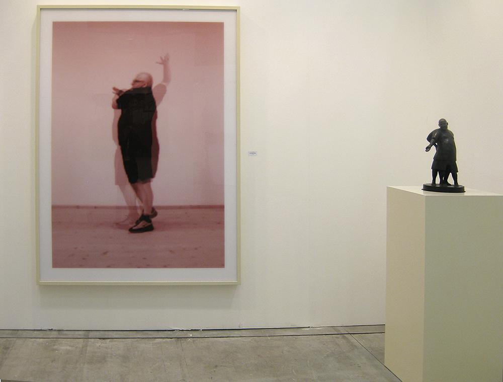 I'd like to be a cubist sculpture, 2006, C-Print su Alu-Dibond su plexiglas, cm 200x150x7