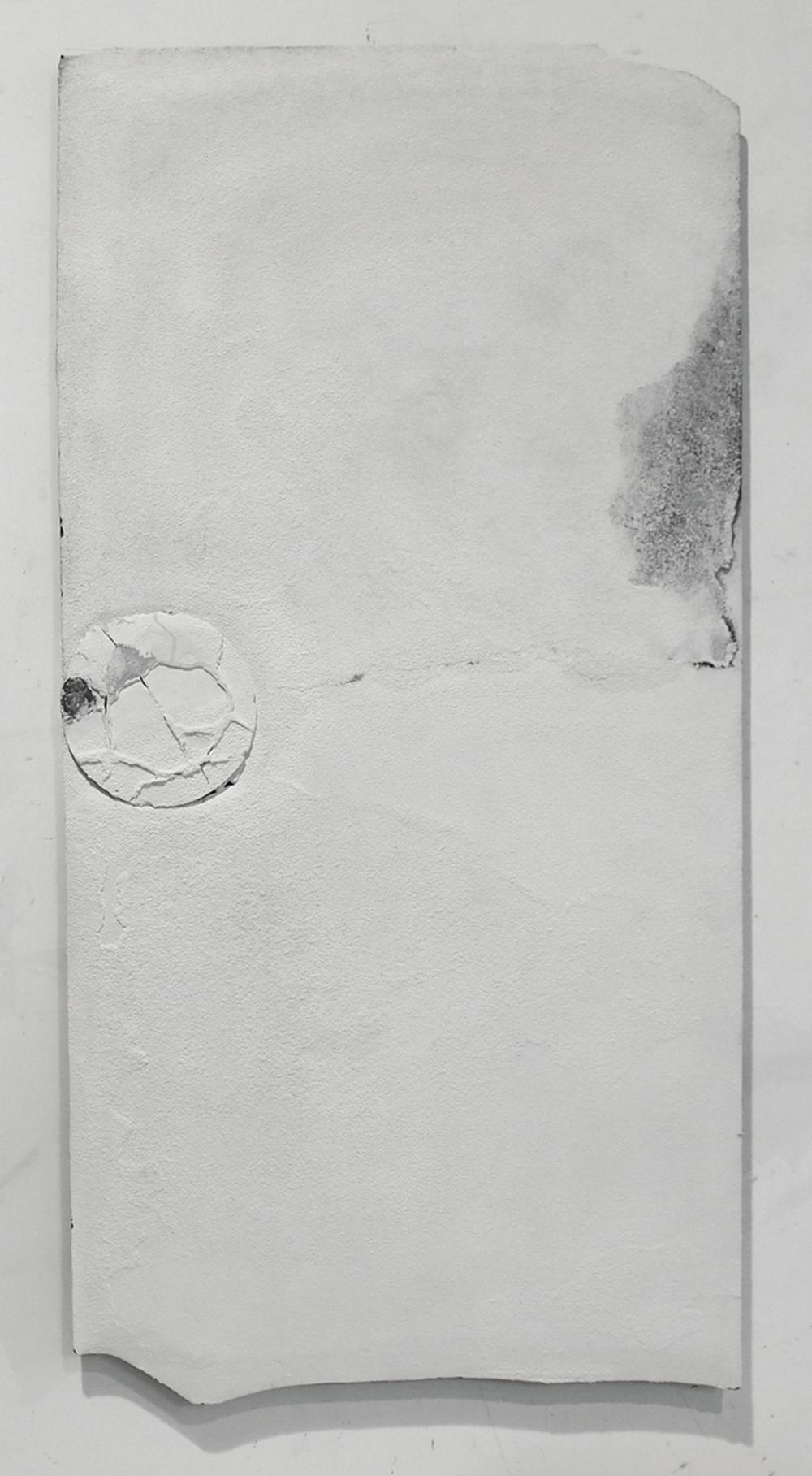 Musivum, 2012, tecnica mista su tavola, cm 150x75