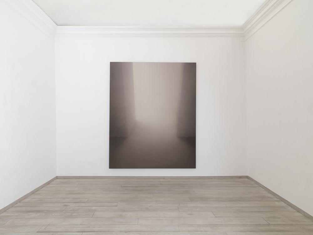 Senza titolo, 2009, tecnica mista su tela, cm 300x250
