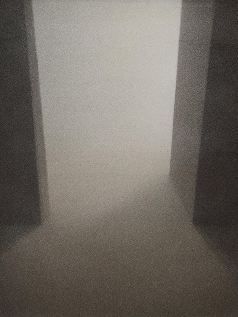 Senza titolo, 2011, tempera acrilica su carta montata su tela, cm 50x41,8