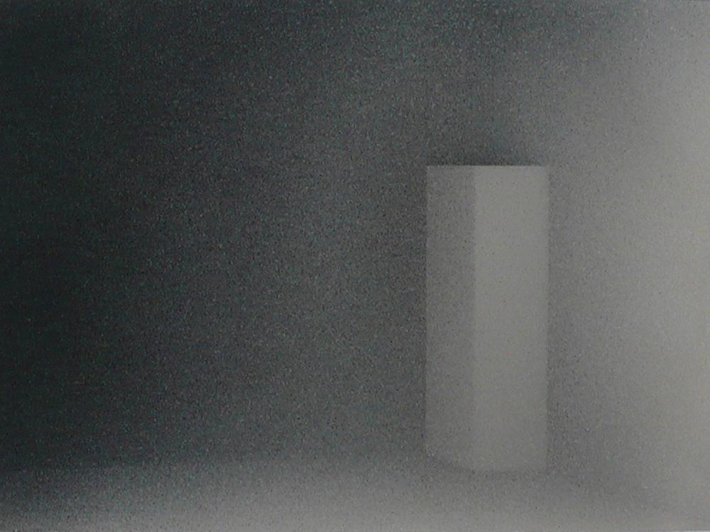 Senza titolo, 2009, tecnica mista su carta montata su tela, cm 42x60