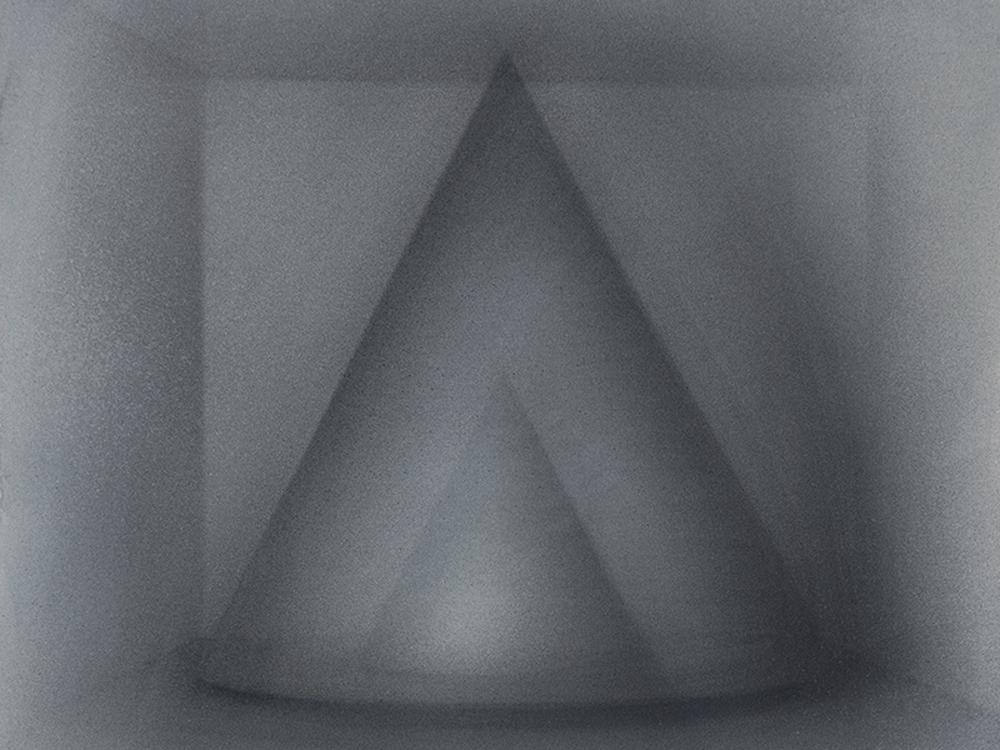 Senza titolo, 2010, tempera su carta montata su tela, cm 49,5x41,5