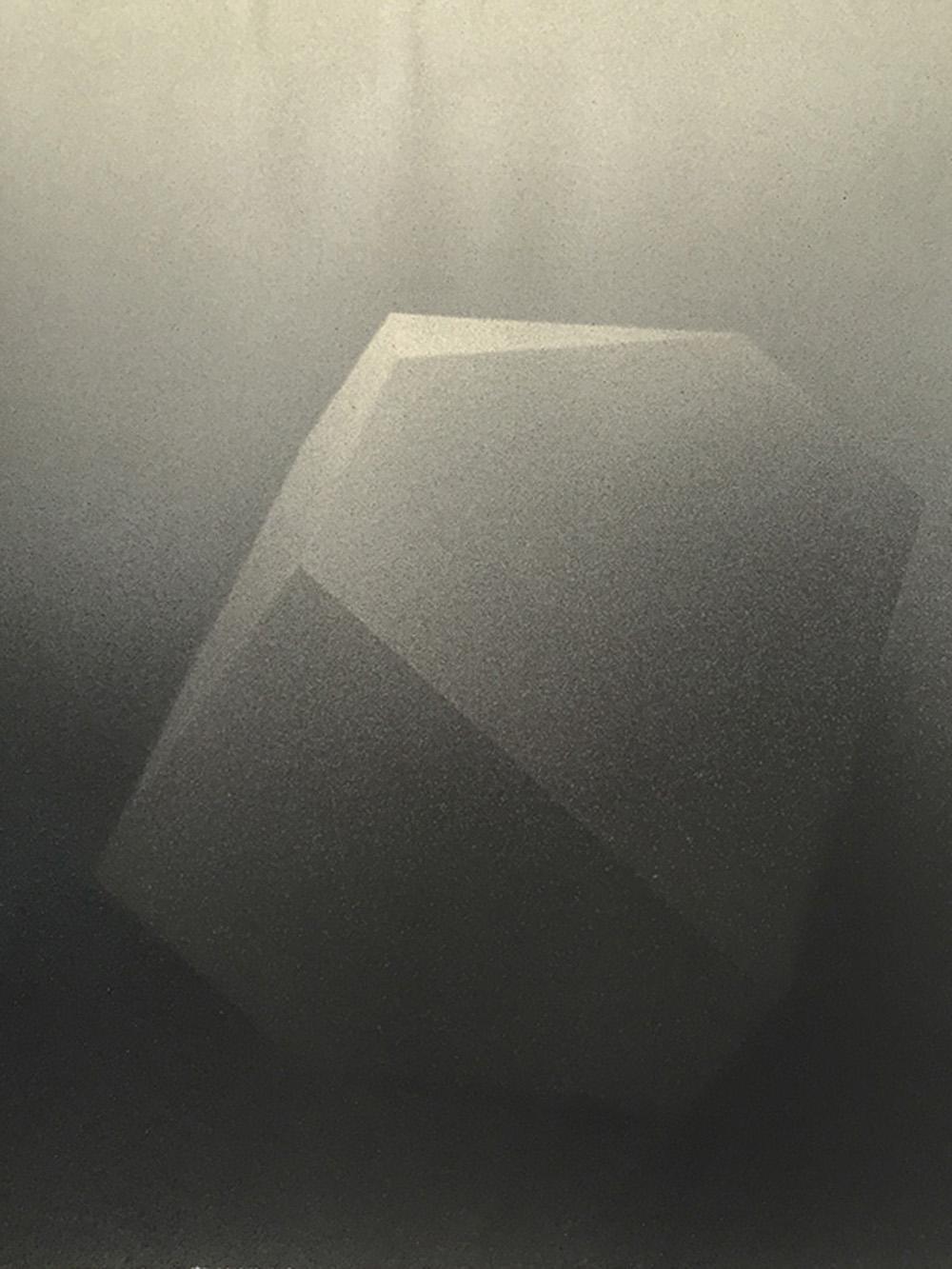 Senza titolo, 2016, tempera e inchiostro su carta montata su tela, cm 49,7x42
