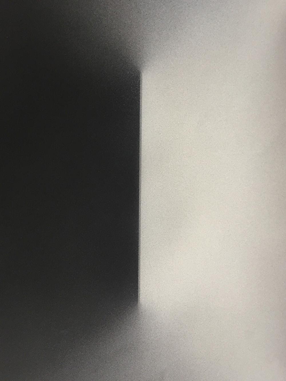 Senza titolo, 2016, tempera e inchiostro su carta montata su tela, cm 60x45
