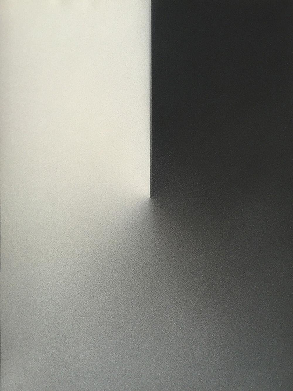 Senza titolo, 2016, tempera e inchiostro su carta montata su tela, cm 50x37,7