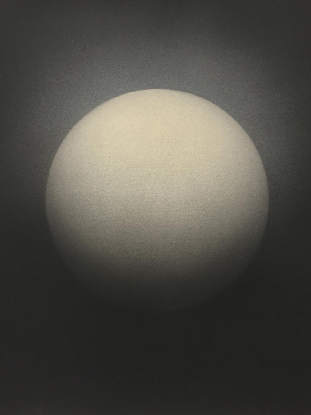 Senza titolo, 2016, tempera e inchiostro su carta montata su tela, cm 60x50