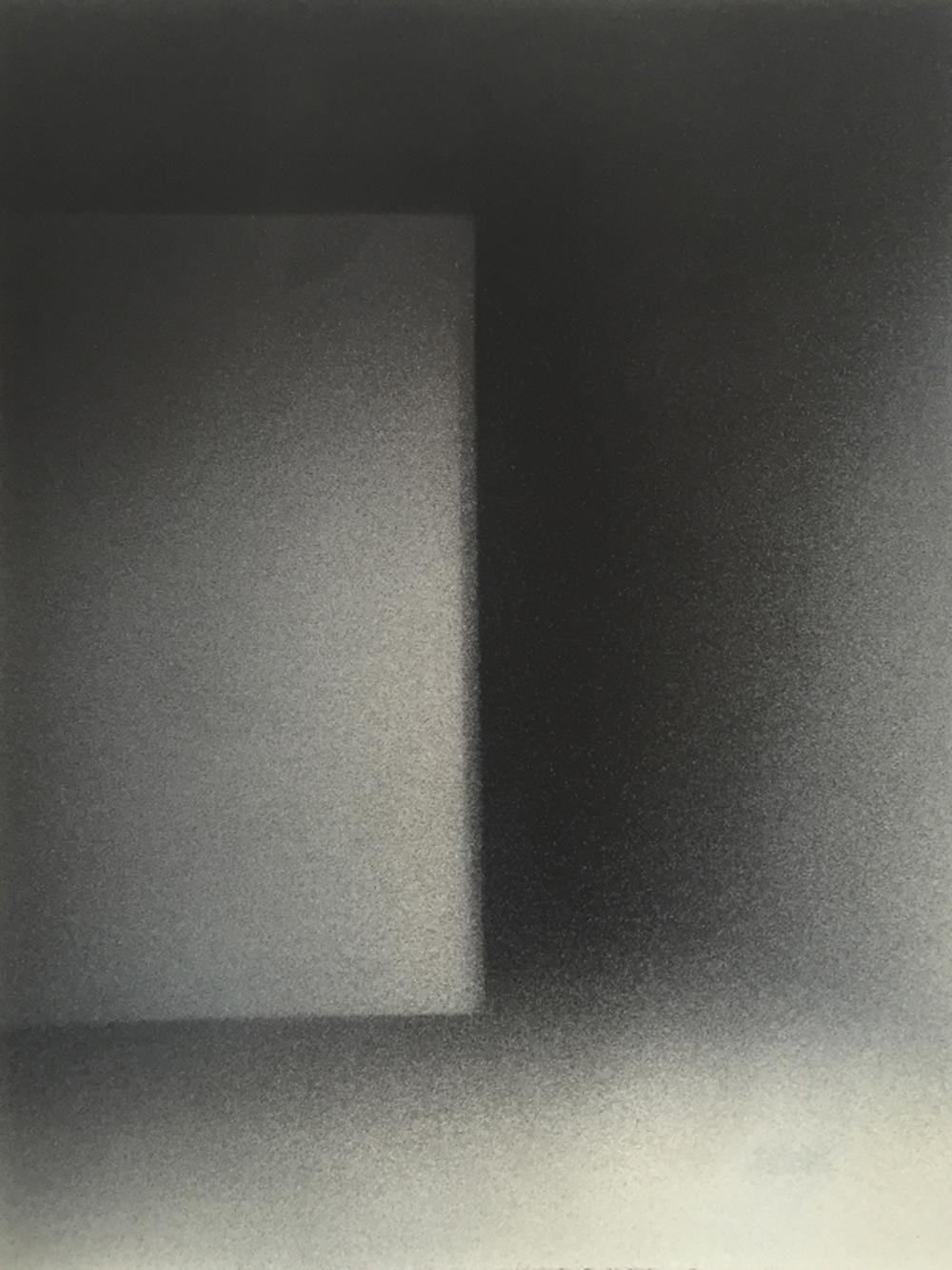 Senza titolo, 2016, tempera e inchiostro su carta montata su tela, cm 50x38,9