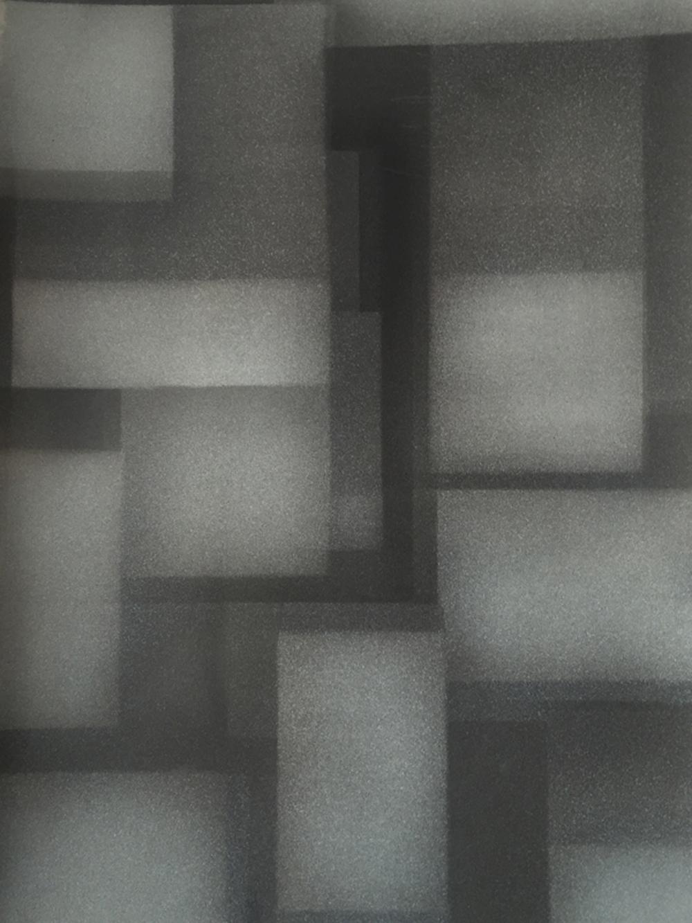 Senza titolo, 2016, tempera e inchiostro su carta montata su tela, cm 50x36