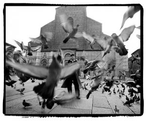 Guido Harari, Lucio Dalla - Bologna, 1996, stampa b/n, cm 37x46
