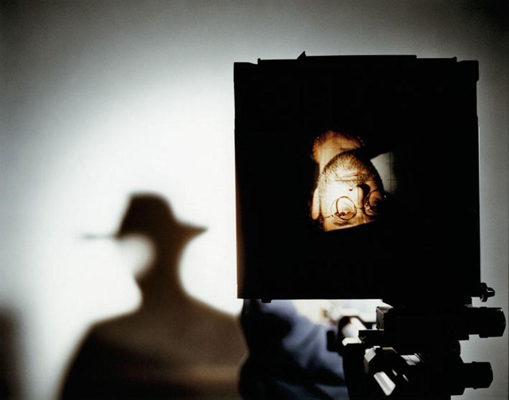 Luigi Ghirri, Reggio Emilia, 1985 (rif. copertina Bugie), stampa modern del 2008, cm 30x40
