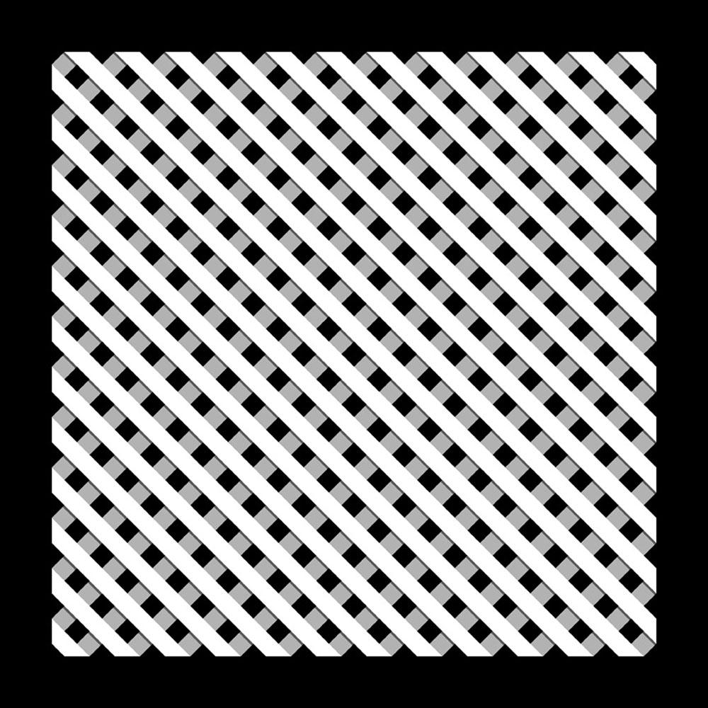 Pannello 188B, 1973-2016, disegno su legno laccato, cm 100x100x3
