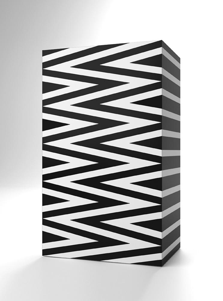 Mobile Costanza, 2015, legno laccato, cm 60x40x10