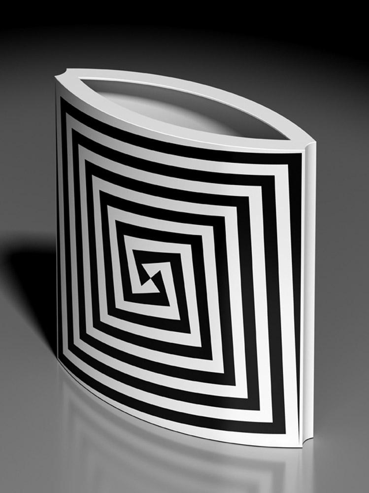 Vaso 476B, 2013, porcellana Rosenthal, h cm 31