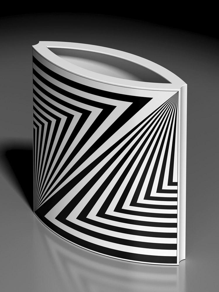 Vaso 551, 2013, porcellana Rosenthal, h cm 31