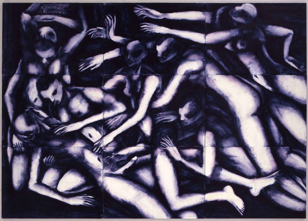 Touch me, 1996, inchiostro su carta, cm 210x300