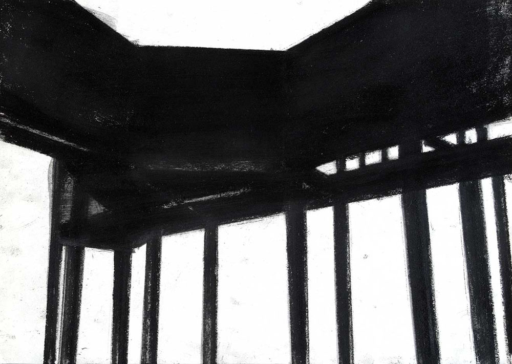 Thule D5, 2005, pastello su carta, cm 30x42