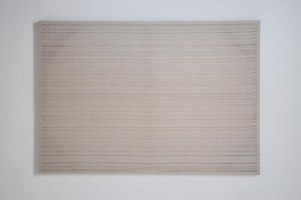 Senza titolo, 2018, tela, cm 105x150