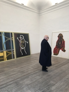 Urs Lüthi at the gallery