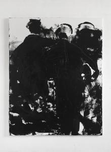 Gianni Dessì, Conversation piece XII, 2017, olio su tela, cm 230x180
