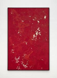 Giuseppe Gallo, Senza titolo, 1992-93, tecnica mista su tela, cm 170x113