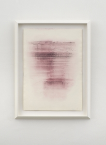 Out of the Thin Air, 2021, tempera mista su carta, cm 70x50